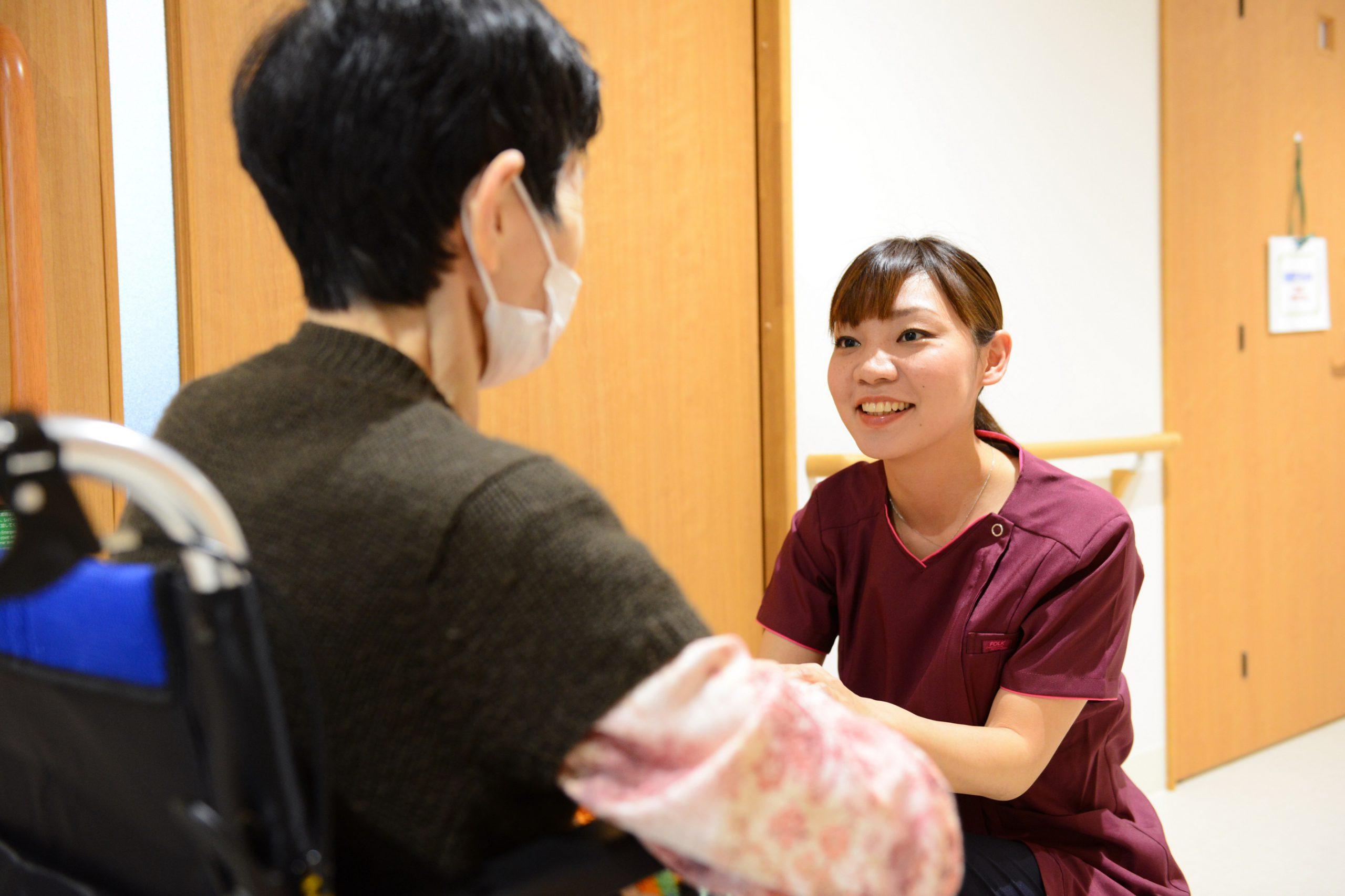 【介護職】医心館への応募を迷っている方、まずはご相談を